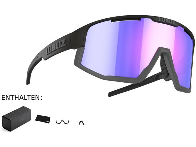 Bliz Fusion M12 Glasses matte black/matte grey/jawbone violet/blue multi nordic light